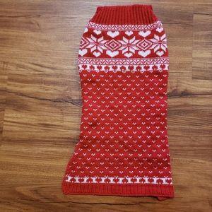 Cat or Dog sleeveless sweater